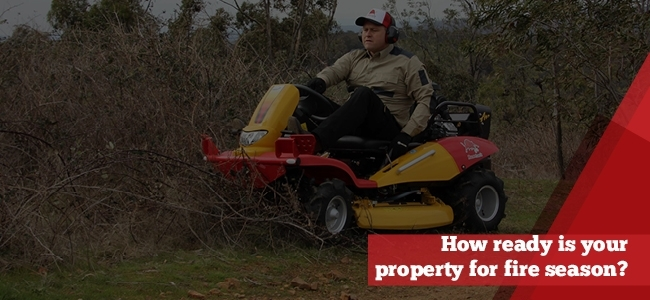 Razorback how ready is your property for fire season