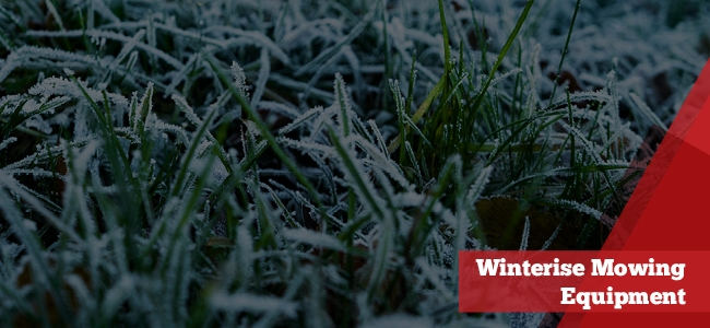 winterise your mowing equipment